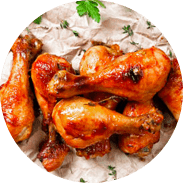 Witwe-Bolte-Speisenauswahl-wings